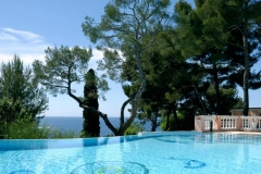 Four Seasons Le Grand-Hôtel du Cap-Ferrat Villa Rose Pierre pool view