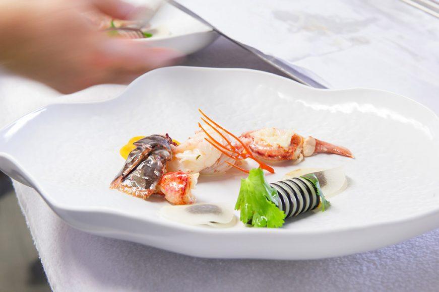 Chef Gerges Blanc - Langoustine @ M-L LUCA
