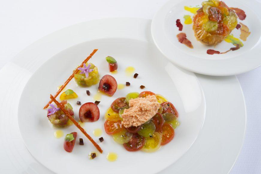 Guy Savoy Au cœur des tomates et _cerise-tomates_ © Laurence Mouton