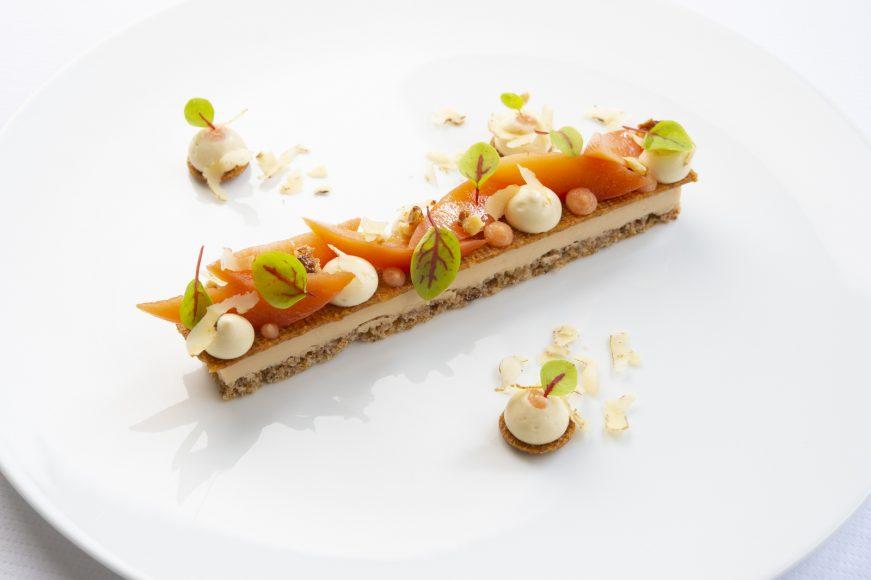 Guy Savoy Copie de Les noix dans le coing, jus d'érable et vinaigre de coing © Laurence Mouton