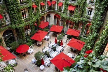 restaurant Plaza Athénée Paris Week-ends de rêve